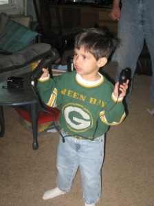 You have to play games wearing Packer clothes