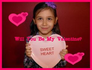 Iris's Valentine for school