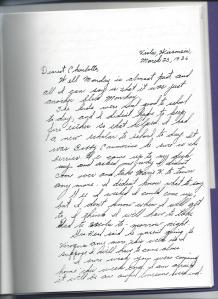 Page 1 of Love Letter