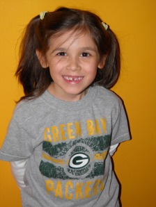 They have Packer Days at school!