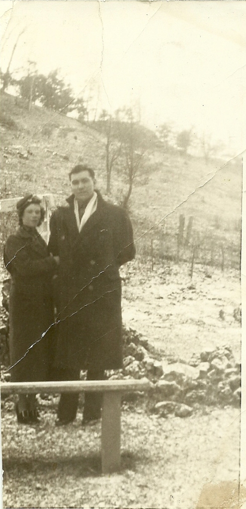 Grandma & Grandpa in 1936