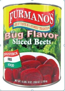 Bug Flavored Beets