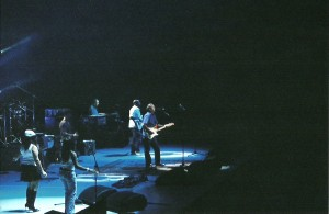 An Eric Clapton concert my husband and I went to before kids