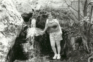 Me hiking the Jemez Mountain...notice my shirt is wet in really great places...I had just got done swimming in hot springs