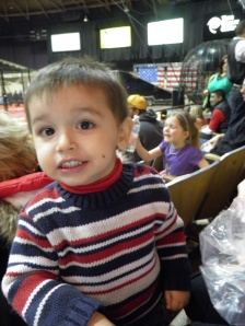 See Cesar...You were at the circus!!!