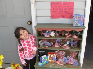 Another one of my daughter's bake sales!