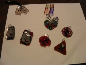 our collection of Shrinky Dinks