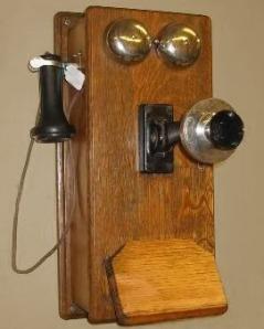 old crank phone