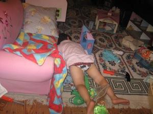 sleeping in the attic