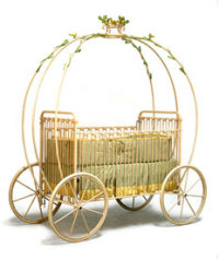 This crib only costs $3749 http://most-expensive.com/luxury-baby-cribs