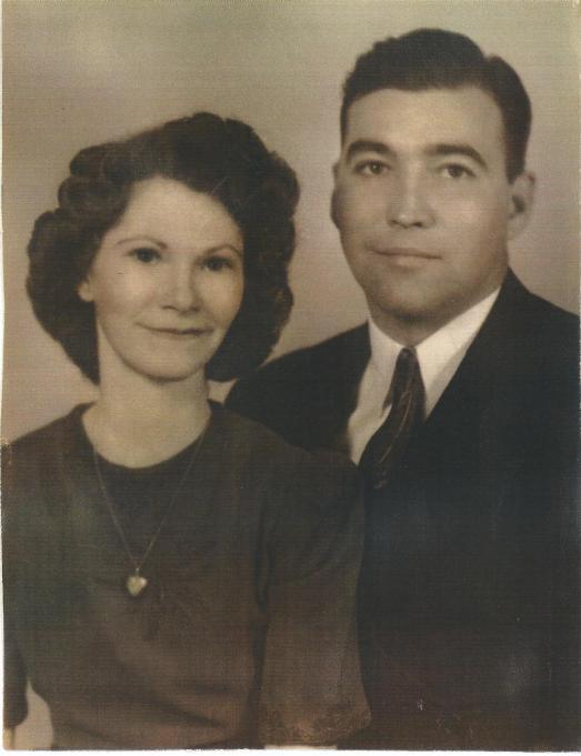 Grandma Charlotte and Grandpa Ed