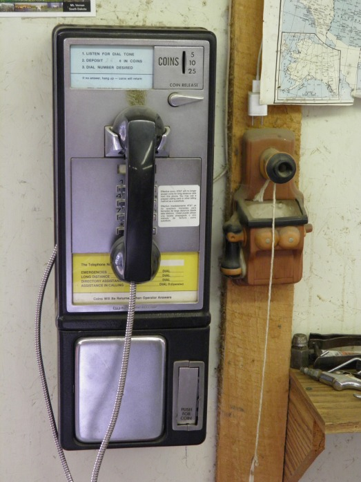 There was even a pay phone in the store for their patrons use! Who still has a payphone??