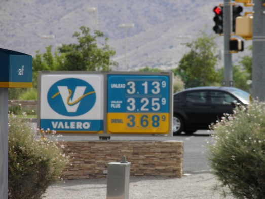 Gas prices June 2013